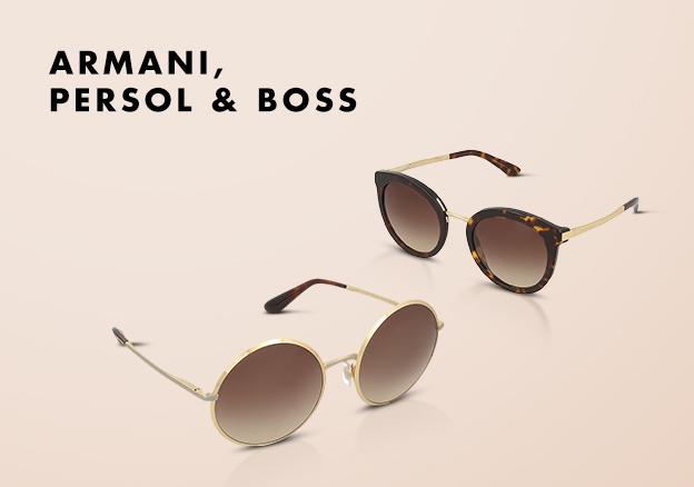 Armani, Persol & Boss