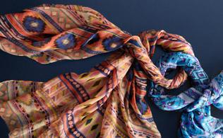 Scarves:  Mili Designs