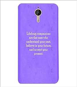 PrintDhaba Quote D-2927 Back Case Cover for LETV (LE ECO) LE 1 PRO (Multi-Coloured)