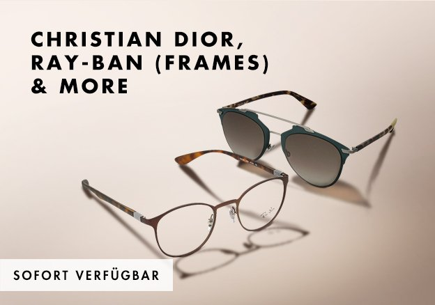 Christian Dior, Ray-Ban (frames) & more!