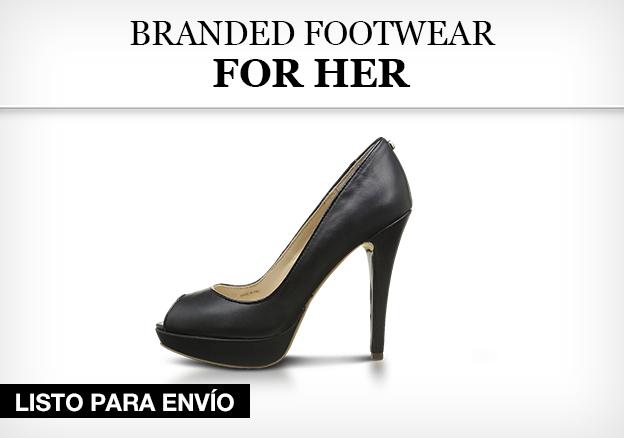 Branded footwear for her!