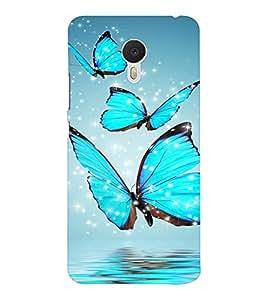 EPICCASE Butterflies Mobile Back Case Cover For Meizu M3 Note (Designer Case)