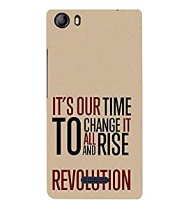 Change it to Rise 3D Hard Polycarbonate Designer Back Case Cover for Micromax Canvas 5 E481