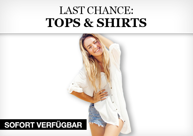Last Chance: Tops & Shirts