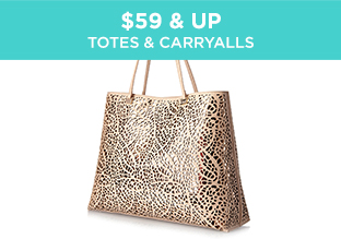 $59 & Up: Totes & Carryalls