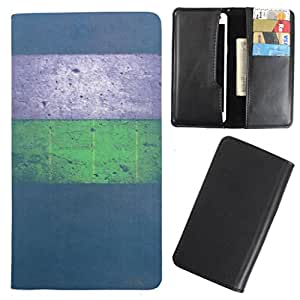 DooDa - For Karbonn Titanium Desire S30 PU Leather Designer Fashionable Fancy Case Cover Pouch With Card & Cash Slots & Smooth Inner Velvet