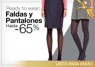 Ready to wear: faldas y pantalones hasta -65%!
