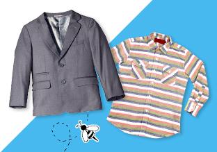 Fino al 70 % di sconto : Blazers bambini e Ups Button!