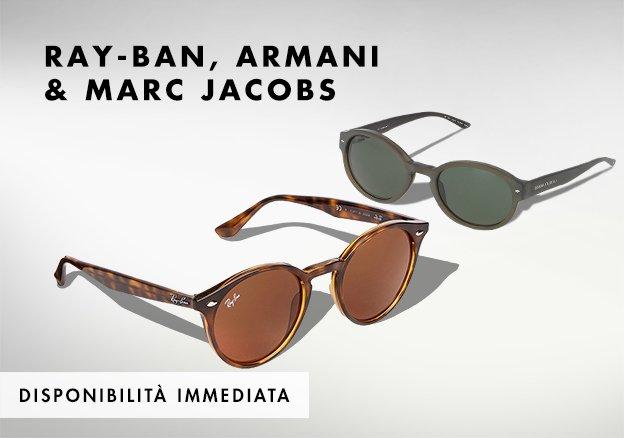 Ray-Ban, Armani & Marc Jacobs!