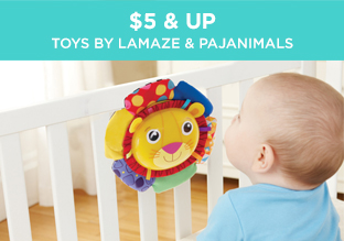 $5 & Up: Toys by Lamaze & Pajanimals