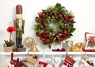 Holiday Decoración Habit: Classic Christmas