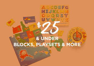 $25 & Under: Blocks, Playsets & More