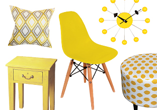 Splash of Color: Shades of Yellow!