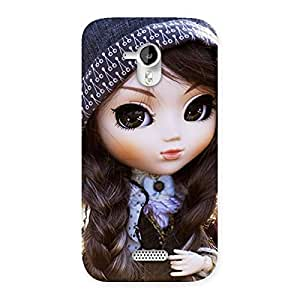 Gorgeous Sweet Angel Doll Multicolor Back Case Cover for Micromax Canvas HD A116