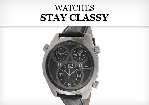 Watches: Stay Classy