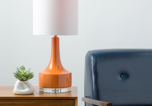 Warm Glow: Table Lamps!