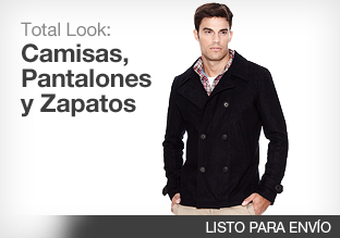 Total Look: Camisas, Pantalones y Zapatos