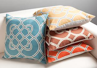 Spring into Color: Throw Pillows!