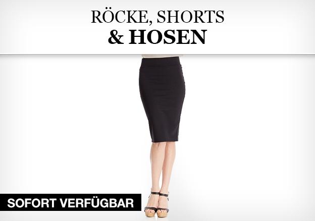 Röcke, Shorts & Hosen