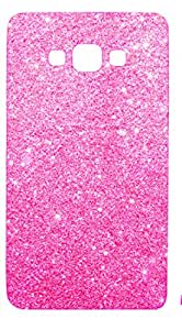 Novo Style Luxury Fashion Bling Sparkling Glitter Soft Back Cover Case For SamsungGalaxyj2- Pink
