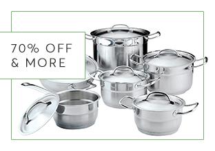 70 % di Sconto & More : Casa e cucina!