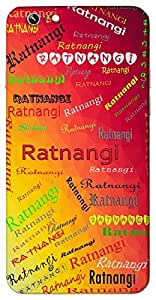 Ratnangi (Popular Girl Name) Name & Sign Printed All over customize & Personalized!! Protective back cover for your Smart Phone : Samsung Galaxy S4mini / i9190