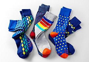 Accent Yourself: Colorful Socks