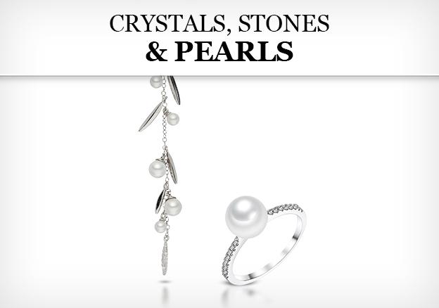 Crystals, Stones & Pearls