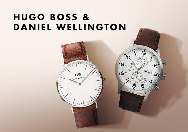 Hugo Boss & Daniel Wellington