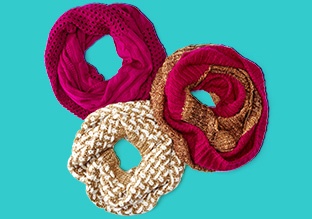 Winter Essential: The Infinity Scarf!