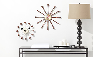 Mid-Century Clocks featuring George Nelson