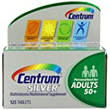 Centrum Silver Adults 50+, 125 Count