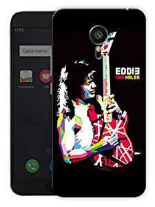 "Humor Gang Eddie Van Halen Printed Designer Mobile Back Cover For ""Meizu Mx5"" (3D, Matte, Premium Quality Snap On Case)"