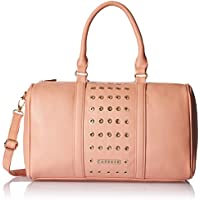 Caprese Women's Satchel Handbag (Light Pink)