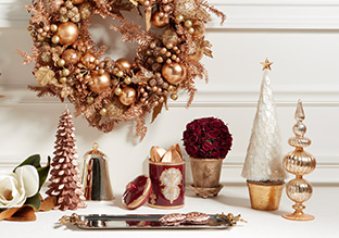 Holiday Décor Habit: Winter Blush!