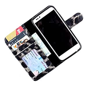 For Nokia Asha 310 - PU Leather Wallet Flip Case Cover