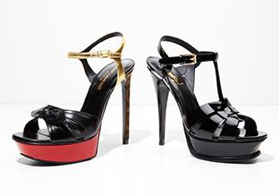 Einfach betäubend : Designer Sandalen!