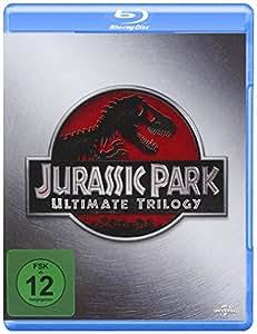 Jurassic Park - Ultimate Trilogy [Alemania] [Blu-ray]