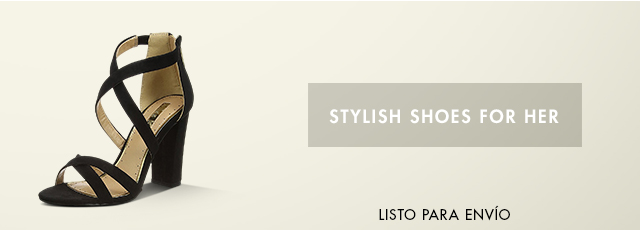 Stylish shoes for her