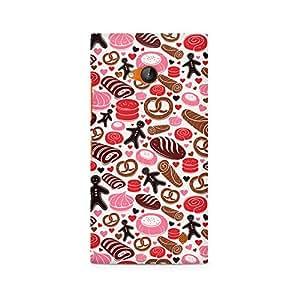 Ebby Bakery Love Premium Printed Case For Nokia Lumia 730