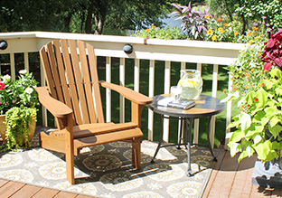 All Decked Out: Outdoor Accents & Furniture!