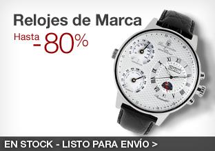 Relojes de Marca: hasta -80%