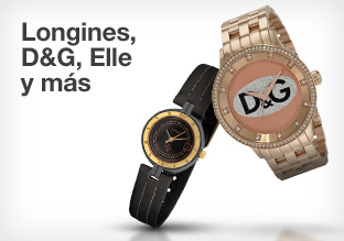 Longines, D&G, Elle y más