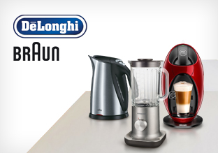 Delonghi, Braun & more