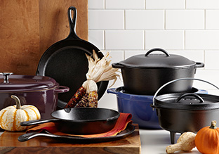 Cold Weather Prep: Cast Iron Cookware!