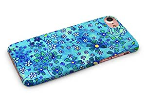 Cover Affair Flowers Printed Back Cover Case for Apple iPhone 7