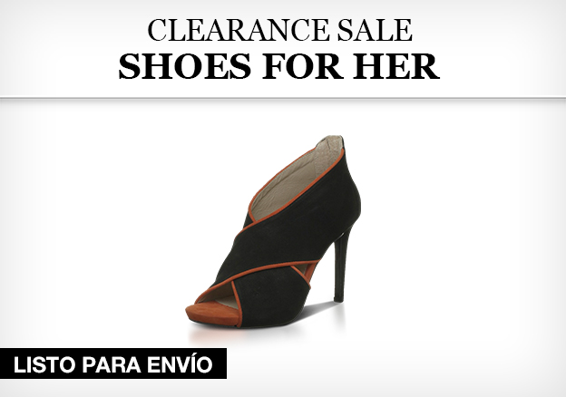 Clearance Sale – shoes for her