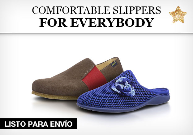 Comfortable slippers for everybody