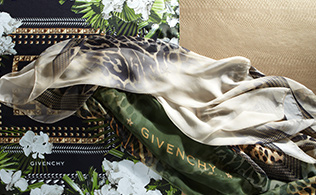 Scarves from Givenchy, Valentino & More