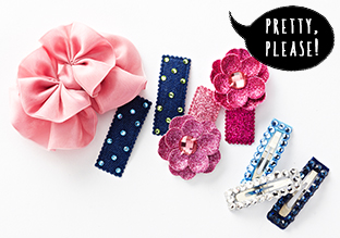 Bows & Brights: Hair Clips, Headbands & More